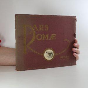 náhled knihy - Ars Romae. Pitture. 40 Tavole (poškozená, viz foto)