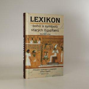 náhled knihy - Lexikon bohů a symbolů starých Egypťanů