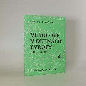 náhled knihy - Vládcové v dějinách Evropy (800 - 1648)