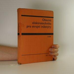 náhled knihy - Obecná elektrotechnika pro strojní inženýry