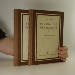 náhled knihy - Technická mechanika II. Kinematika I. - II. část (2 svazky)