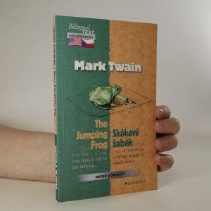 náhled knihy - The Jumping Frog. Skákavý žabák