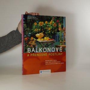 náhled knihy - Balkonové a přenosné rostliny