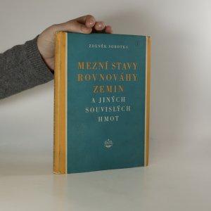 náhled knihy - Mezní stavy rovnováhy zemin a jiných souvislých hmot