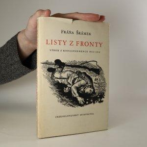 náhled knihy - Listy z fronty. Výbor korespondence 1915-1918