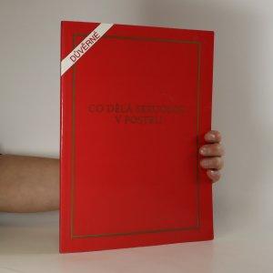 náhled knihy - Co dělá sexuolog v posteli