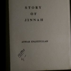 antikvární kniha Story of Jinnah, neuveden