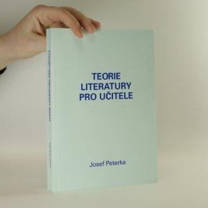 náhled knihy - Teorie literatury pro učitele