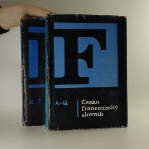 náhled knihy - Česko-francouzský slovník. (2 svazky, komplet)