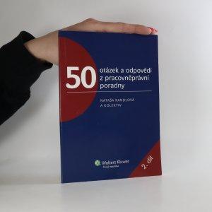náhled knihy - 50 otázek a odpovědí z pracovněprávní poradny