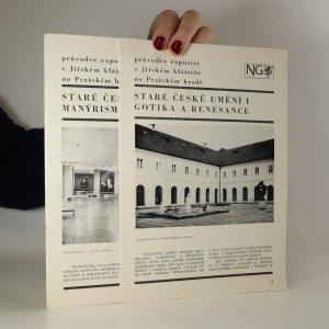 náhled knihy - Staré české umění I-II. Gotika a renesance. Manýrismus a baroko (2 sešity)