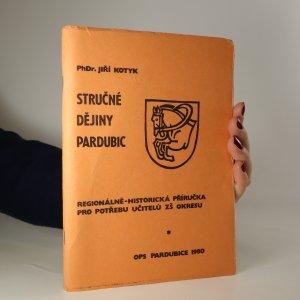 náhled knihy - Stručné dějiny Pardubic
