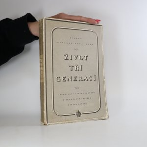 náhled knihy - Život tří generací. Vzpomínky na velké Purkyně. Listy a články Karla Purkyně