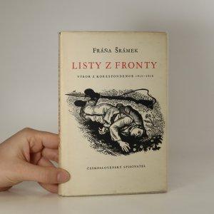 náhled knihy - Listy z fronty. Výbor korespondence 1915-1918.