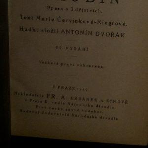 antikvární kniha Jakobín, 1940