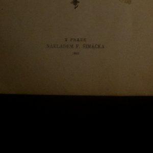 antikvární kniha Psohlavci , 1900