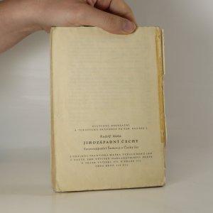 antikvární kniha Průvodce pro ČSR. Jihozápadní Čechy. 2. díl., 1948