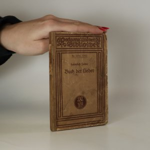 náhled knihy - Buch der Lieder
