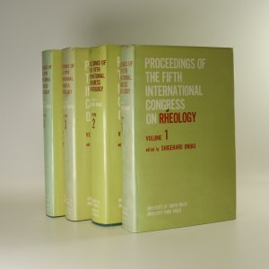 náhled knihy - Proceedings of the Fifth International Congress on Rheology I- IV