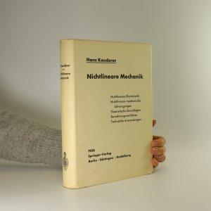 náhled knihy - Nichtlineare Mechanik