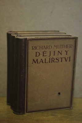 náhled knihy - Dějiny malířství I. - III. svazek