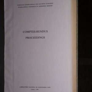 antikvární kniha Symposium International sur les Ponts Suspendus. International Symposium on Suspension Bridges, 1966
