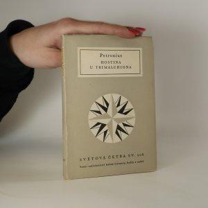 náhled knihy - Hostina u Trimalchiona