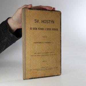 náhled knihy - Sv. Hostýn ve svém původu a svých osudech