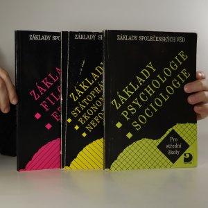 náhled knihy - Základy společenských věd I-III (3 svazky, viz poznámka)
