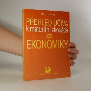 náhled knihy - Přehled učiva k maturitní zkoušce z ekonomiky