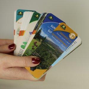 náhled knihy - 4x informační kartičky o Šumavě (4 kusy)