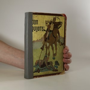 náhled knihy - Don Quijote de la Mancha (poškozená, viz foto)