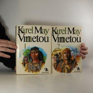 náhled knihy - Vinnetou I. a II. díl (2 svazky, poškozená kniha, viz foto a stav)