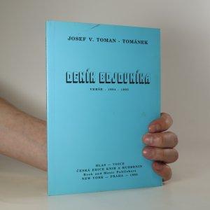 náhled knihy - Deník bojovníka. Verše - 1994-1995