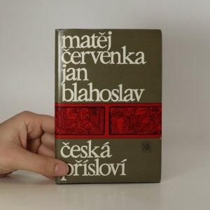 náhled knihy - Česká přísloví