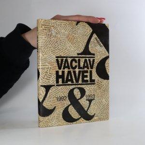 náhled knihy - Václav Havel 1992 & 1993
