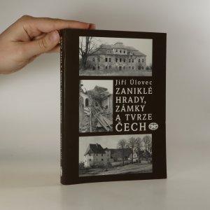 náhled knihy - Zaniklé hrady, zámky a tvrze Čech
