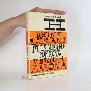 náhled knihy - Politické a sociální dějiny strany mírného pokroku v mezích zákona