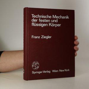 náhled knihy - Technische Mechanik der festen und flüssigen Körper