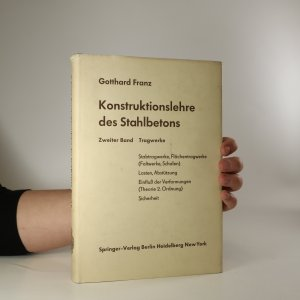 náhled knihy - Konstruktionslehre des Stahlbetons. Band 2 (s podpisem autora)