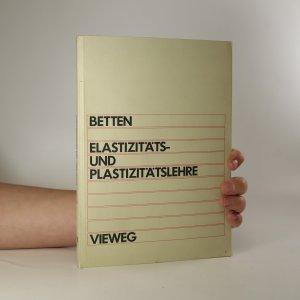 náhled knihy - Elastizität und Plastizitätslehre