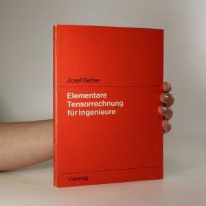 náhled knihy - Elementare Tensorrechnung für Ingenieure