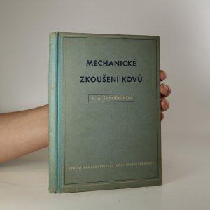 náhled knihy - Mechanické zkoušení kovů