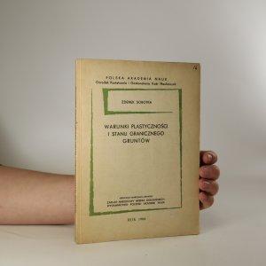 náhled knihy - Warunki plastyczności i stanu granicznego gruntów