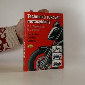 náhled knihy - Technická rukověť motocyklisty