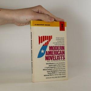 náhled knihy - Seven Modern American Novelists