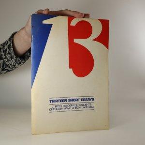 náhled knihy - Thirteen Short Essays