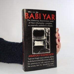 náhled knihy - Babi Yar