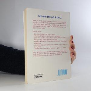 antikvární kniha Těhotenství a porod od A do Z , 1997
