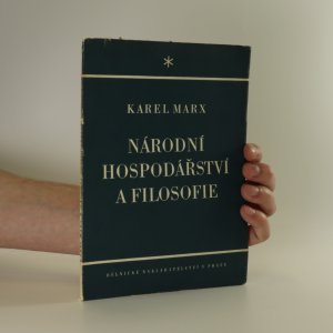 náhled knihy - Národní hospodářství a filosofie